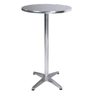 CHROME COCKTAIL TABLE