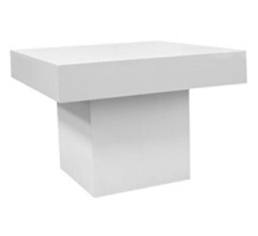CAFE PLINTH TABLE