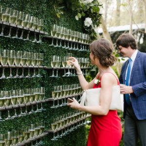 GRASS CHAMPAGNE WALL
