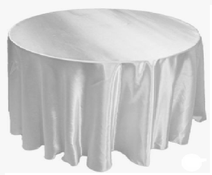 Satin tablecloth