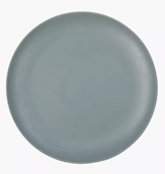 SIDE PLATE BLUE GREY