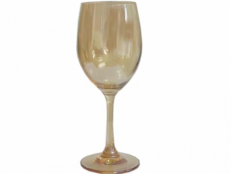 Gold Wine Glass