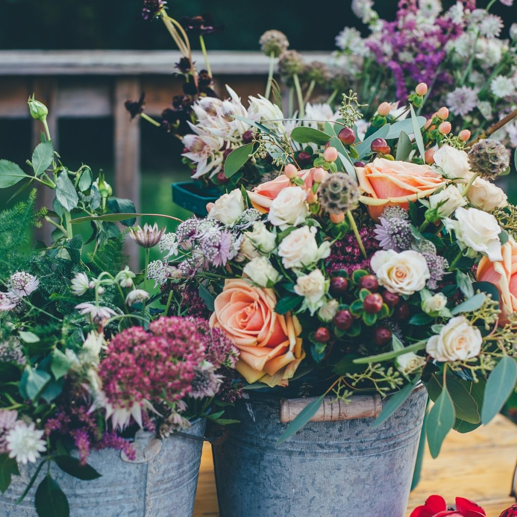 wedding flowers for hire